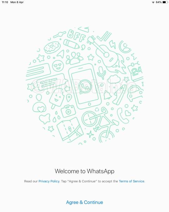 WhatsApp inicio