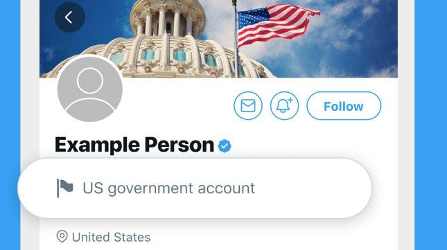Cuenta de Gobierno en twitter