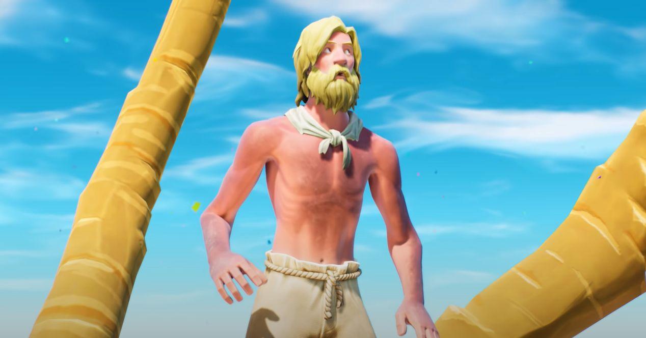 Fortnite teoria Isla desierta