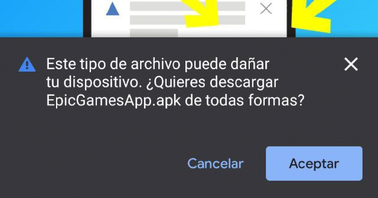Instalar epic games store android
