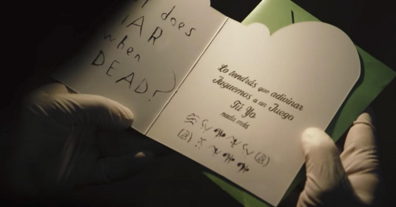 Tráiler The Batman - Tarjeta Enigma
