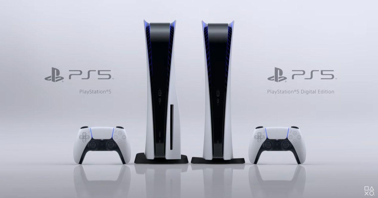PS5 diseño exterior
