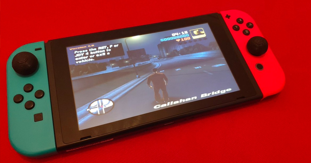 GTA Nintendo Switch port