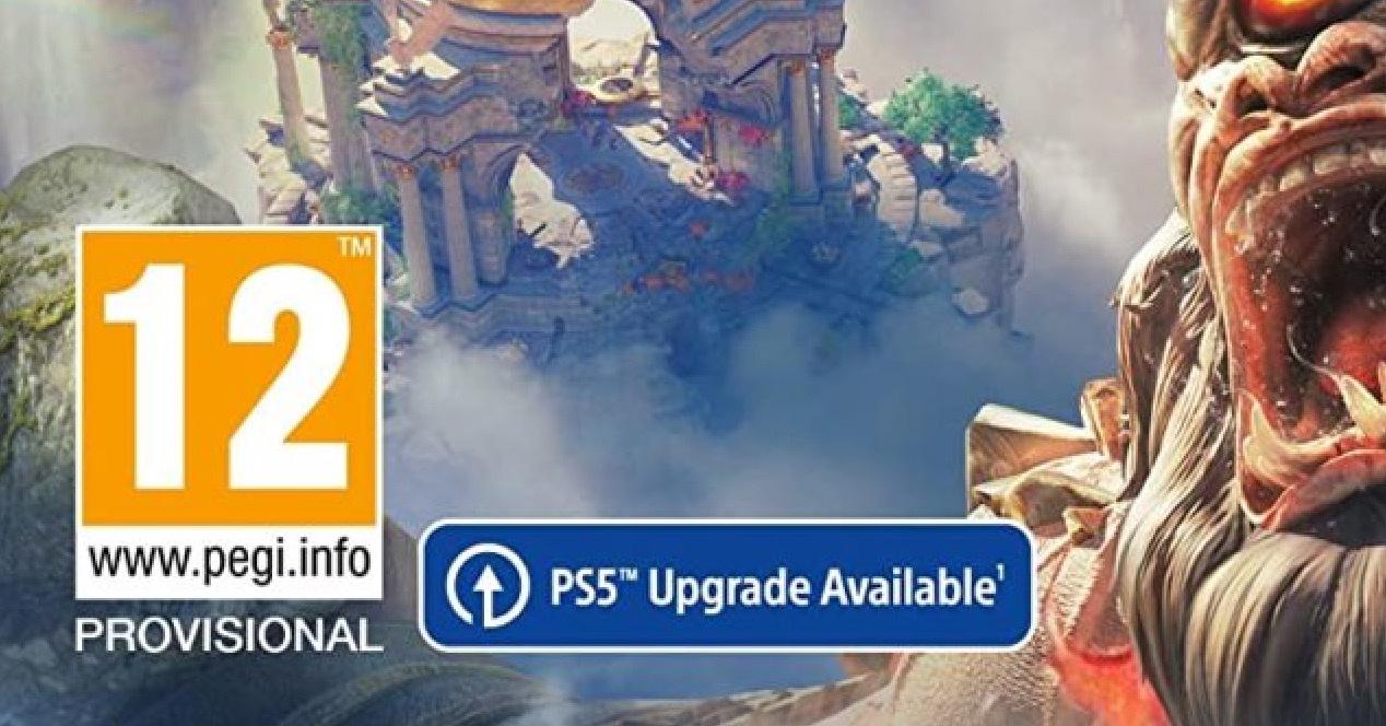 PS4 actualización PS5