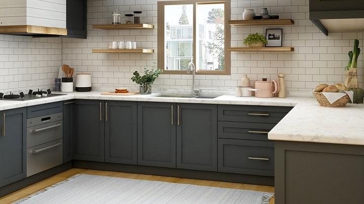 decoracion-de-cocina-azul-y-blanca