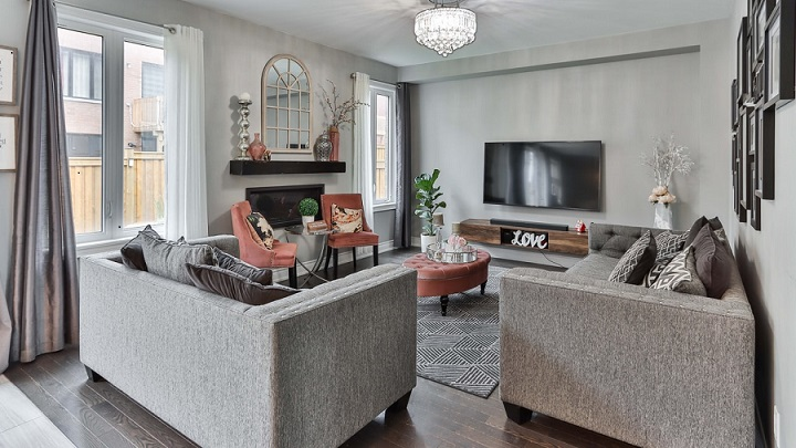 sofas-de-color-gris-en-salon