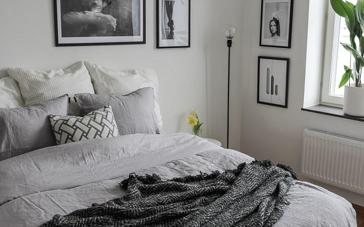 dormitorio-decorado-en-blanco-y-negro