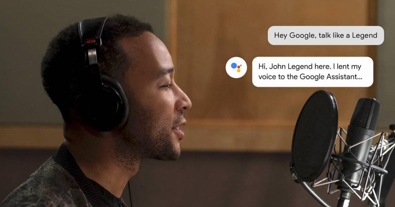 Cambiar voz Google Assistante Celebrity