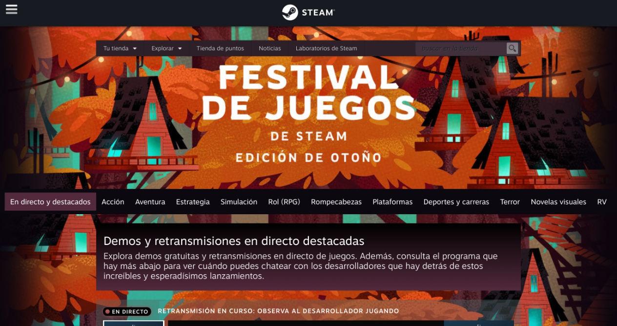 Steam Game Festival Web