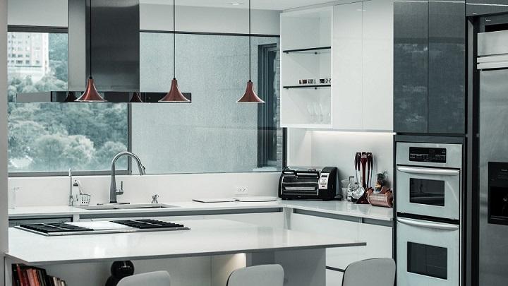 cocina-de-color-gris