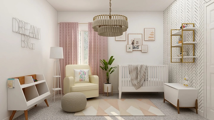 dormitorio-decorado-en-blanco-gris-y-rosa