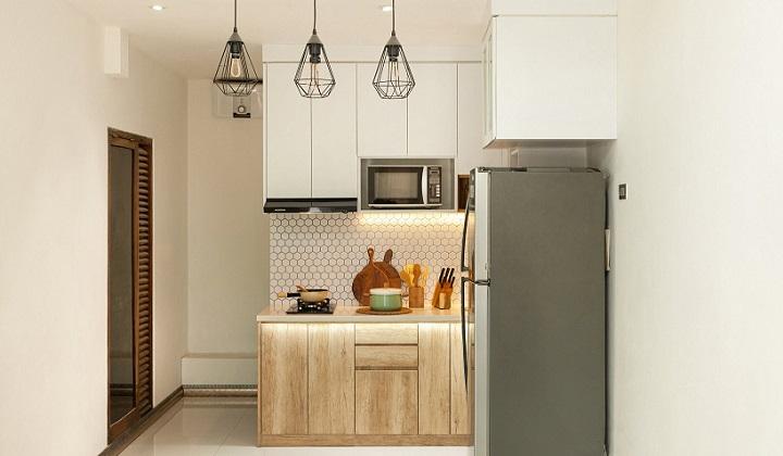 lamparas-de-cocina-de-forma-geometrica