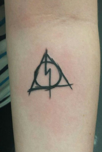 tattoos pequenos harry potter