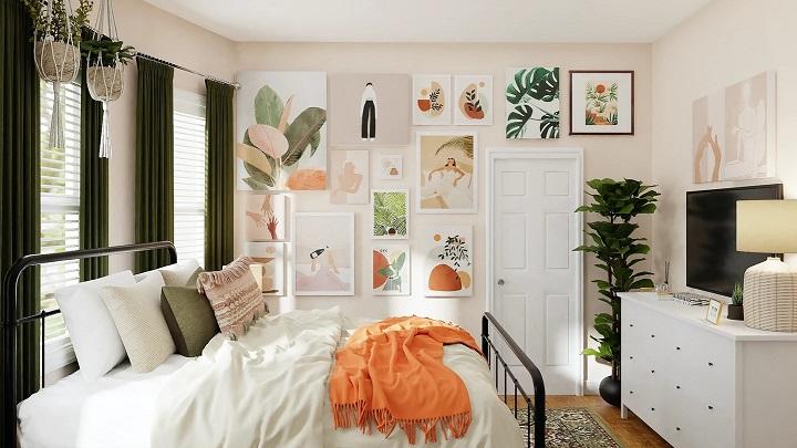 cuadros-en-pared-de-dormitorio-juvenil