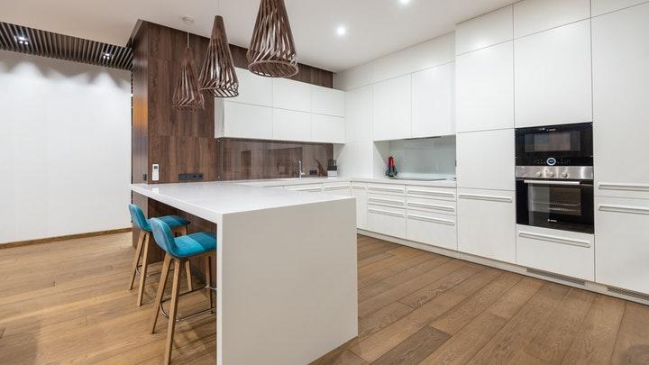 muebles-de-cocina-blancos-sin-tiradores