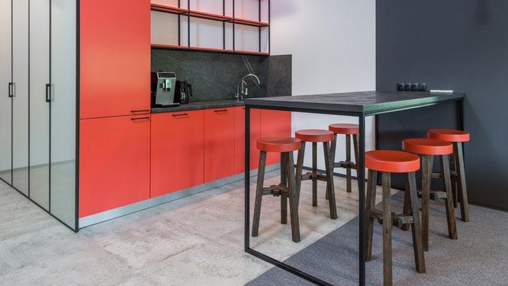 muebles-de-cocina-en-rojo